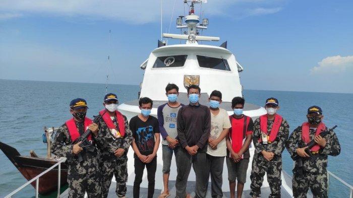 KKP Bebaskan Lima Nelayan Indonesia yang Ditahan Malaysia