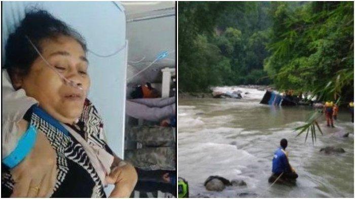 Nenek Hasanah korban selamat kecelakaan bus Sriwijaya