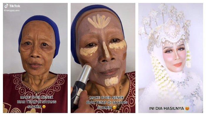 Nenek Zubaedah Dirias Oleh MUA Asal Lampung, Rangga Juans