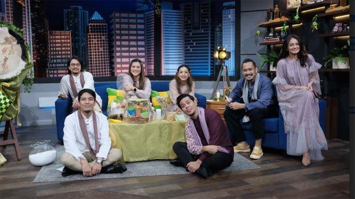Penghilang Jenuh di Rumah Aja, Vincent dan Desta Hibur Pemirsa Tv di Hari Lebaran