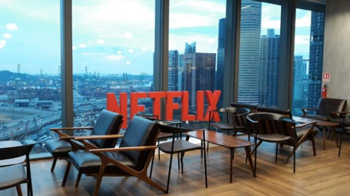 Salah satu sudut markas Netflix Singapura