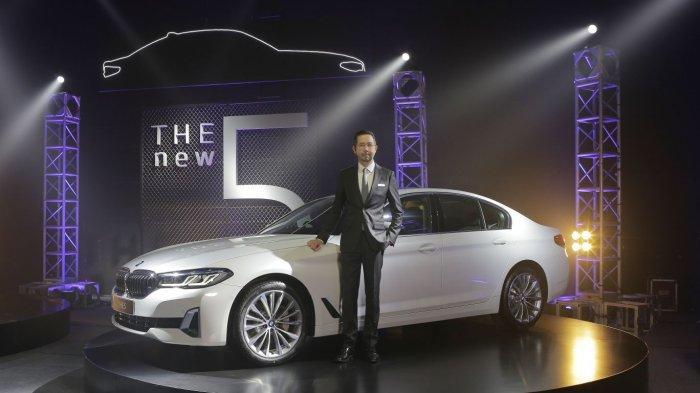 BMW Seri 5 Terbaru Mengaspal, Tampilan Lebih Sporty dan Elegan