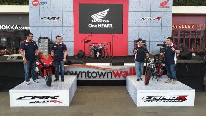 New Honda CBR250RR dan CB150R Streetfire Resmi Dipasarkan di Jawa Barat