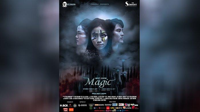 Penampilan Next Door Magic Jadi Terobosan Baru di Dunia Perteateran Indonesia