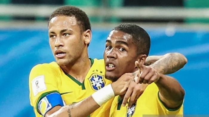 Neymar dan Douglas Costa Perkuat Brasil di Olimpiade