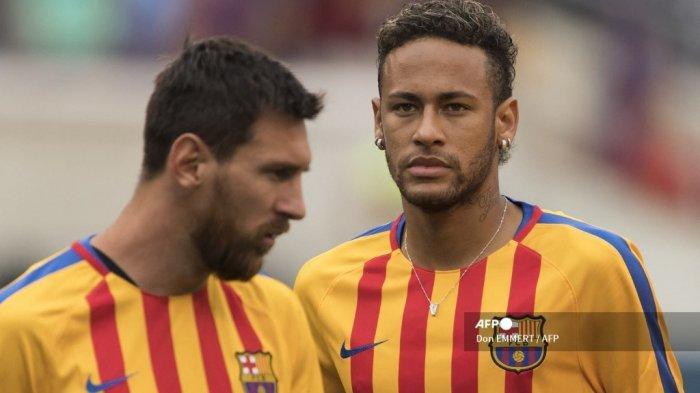 Neymar Sambut Lionel Messi di Paris, 'Bersama Lagi', Duo Kapten El Clasico Gabung PSG