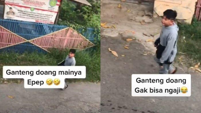 Pemuda Ini Diejek 'Ganteng Doang Tak Bisa Ngaji' oleh Seorang Bocah, Videonya Ditonton 30 Juta Kali