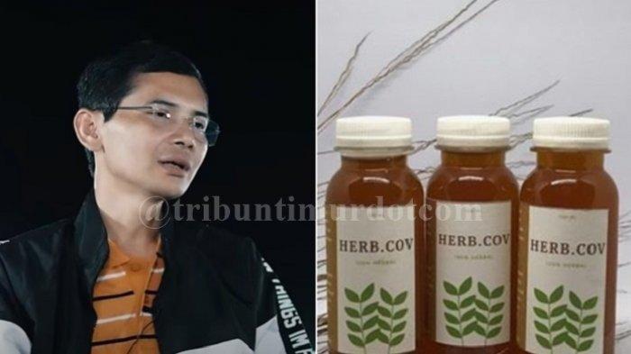 Hadi Pranoto mengklaim menemukan obat Covid-19 yang dihargai Rp 150.000 per botol yang telah ampuh sembuhkan ribuan pasien positif corona.