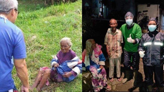 VIRAL Nenek 70 Tahun Diduga Dibuang Keluarganya di Pinggir Jalan, Begini Faktanya