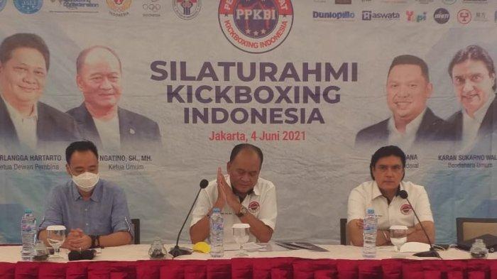 Pengurus Pusat Kick Boxing Indonesia Menggelar Pelatnas Mandiri di Bandung