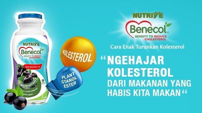 Ngehajar makanan berlemak pakai Nutrive Benecol saja