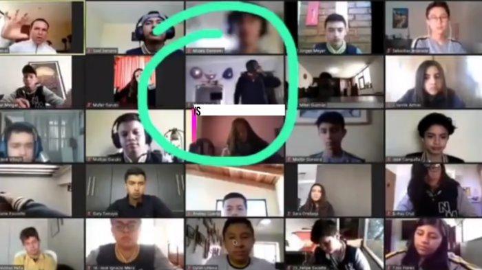Aksi Perampokan Terekam Zoom, Dobrak Pintu Saat Korbannya sedang Ikuti Kelas Online