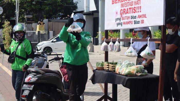 Ni Putu Eka Wiryastuti Bantu Pemerintah Gelar Lapak Sembako Bertajuk Yang Butuh Bisa Ambil