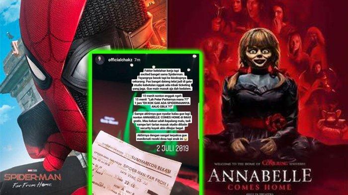 Niatnya Nonton Spider-Man: Far From Home, Pria Ini Baru Sadar Filmnya Annabelle Comes Home Kok Bisa?