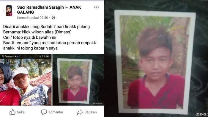 Terkuak Misteri Siswa SMP Tewas dalam Karung, Korban Pembunuhan, Pelaku Sempat Bonceng Motornya