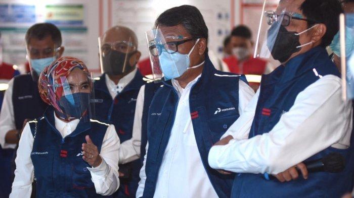 Siap Penuhi Kebutuhan Energi Saat Tahun Baru, Menteri ESDM Apresiasi Layanan Pertamina