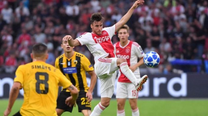 Live Score Valencia vs Ajax Amsterdam Liga Champions 2019, Adu Taktik Ten Hag dan Celades