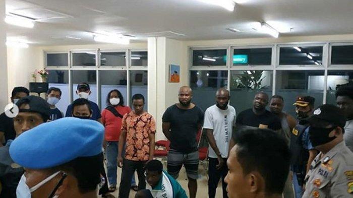 Periksa Rekaman CCTV, 3 WNA Nigeria Diduga Terlibat Pengeroyokan Kepada Polisi
