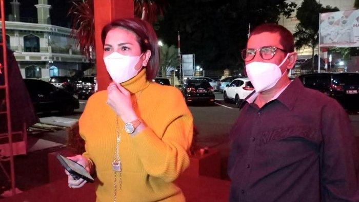 Sambangi Polres Metro Jakarta Selatan, Nikita Mirzani: Mau Laporkan Dipo Latief