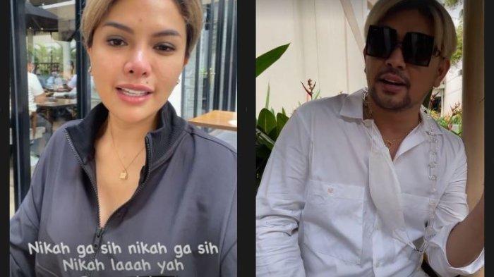 Momen Caren Delano berbincang soal pernikahan Nikita Mirzani.