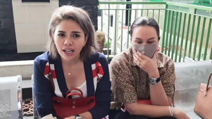 Nikita Mirzani di Pengadilan Negeri Jakarta Selatan, Rabu (1/7/2020).