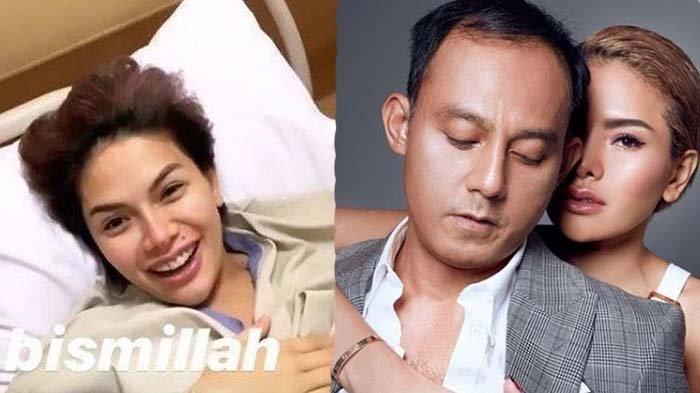 Nikita Mirzani saat melahirkan, serta saat bersama Dipo Latief