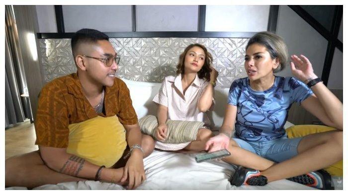Nikita Mirzani, Siti Badriah dan Krisjiana dalam kanal YouTube Crazy Nikmir Real, Rabu (2/12/2020).