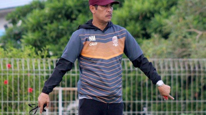 Nil Maizar Geber Latihan Sriwijaya FC untuk Persiapan Tampil di Liga 2 2021