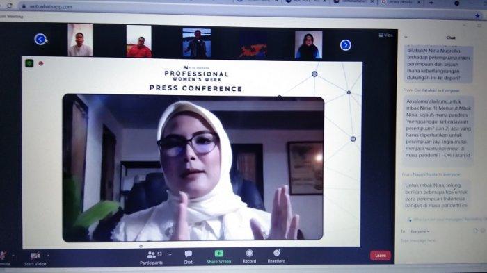 Professional Women's Week Dilaksanakan Secara Hybrid Kata Nina Nugroho