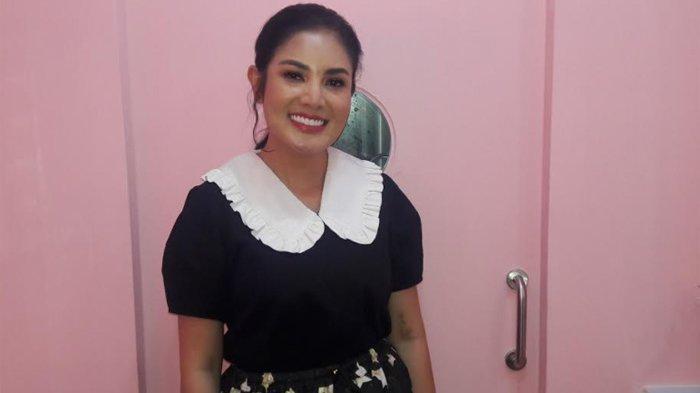 Nindy Ayunda ketika ditemui di kawasan Blok M, Jakarta Selatan, Selasa (8/6/2021).
