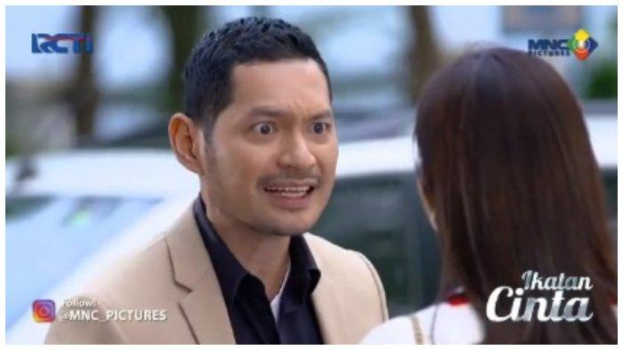 Nino di Ikatan Cinta Kamis, 22 Juli 2021.