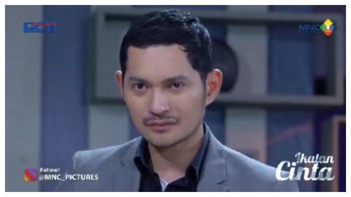 Nino di Ikatan Cinta Senin, 21 Juni 2021.