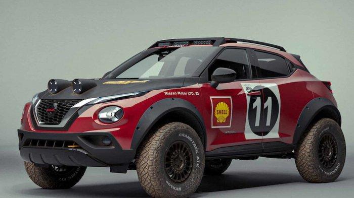 Nissan Juke Menjelma Jadi Mobil Rally, Tampangnya Makin Macho