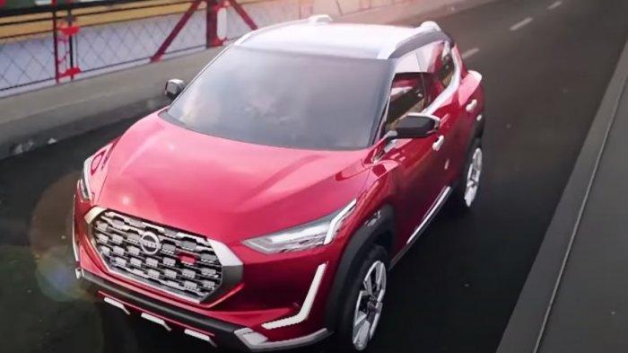 Suv Nissan Magnite Punya Interior Bernuansa Merah Tribunnews Com Mobile