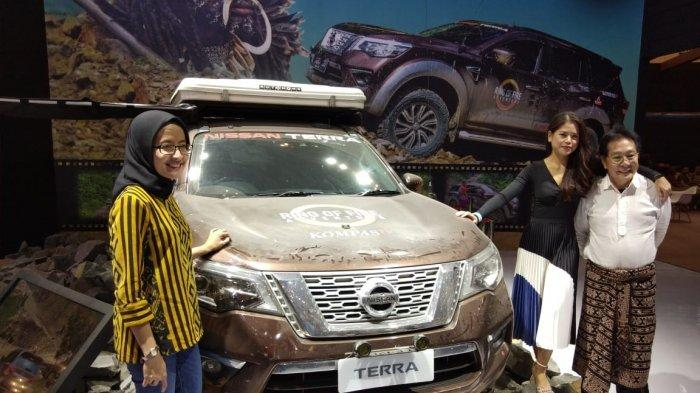 PT Nissan Motor Indonesia (NMI) berbagi pengalaman petualangan All New Nissan Terra menjelajah alam Papua dalam program televisi Ring of Fire lewat sesi talkshow di pameran otomotif GIIAS 2019, Sabtu (20/7/2019).