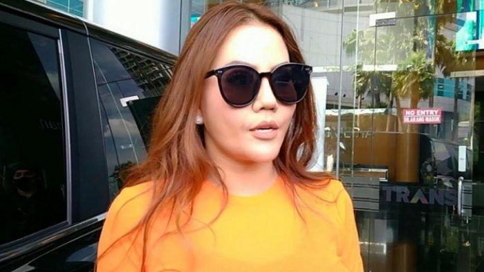 Nita Thalia ditemui di gedung Trans TV, Jalan Kapten Tendean, Mampang Prapatan, Jakarta Selatan, Kamis (24/12/2020).
