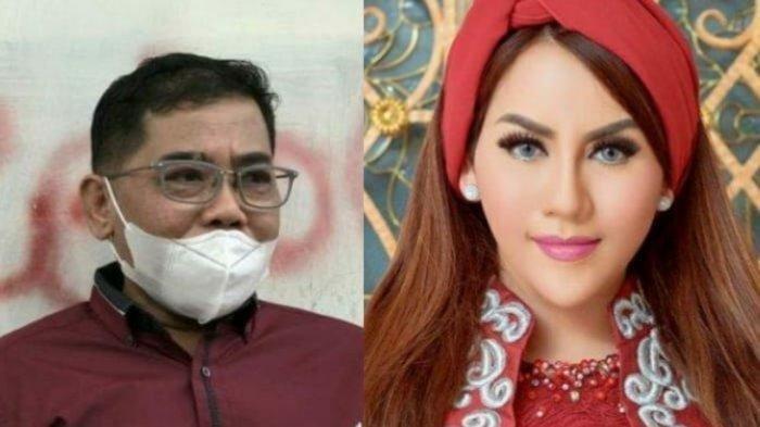 Kolase foto Nurdin Rudythia dan Nita Thalia. Nita Thalia Berduka, Nurdin Rudythia Mantan Suaminya Meninggal Setelah Bercerai Satu Bulan Lalu