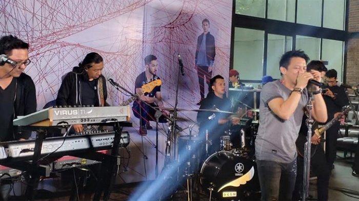 NOAH saat ditemui di perilisan album Keterkaitan Keterikatan di Jakarta Selatan, Rabu (14/8/2019).