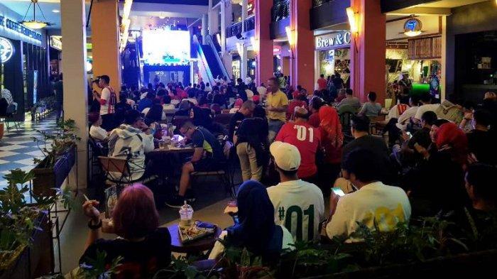 Erick Tohir Mengapresiasi Kehebohan Pendukung 01 Saat Menyaksikan Nobar Debat Ketiga Pilpres 2019