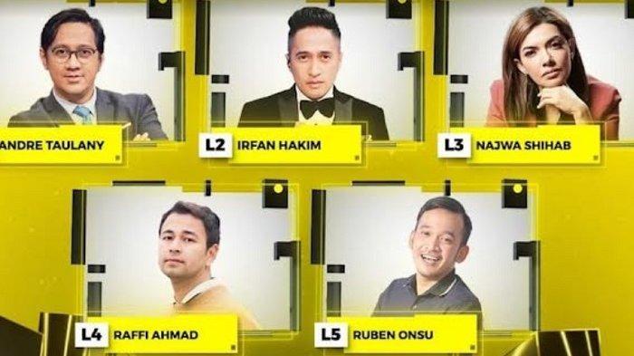 Para Presenter Kenamaan Bersaing di Indonesian Television Awards 2021