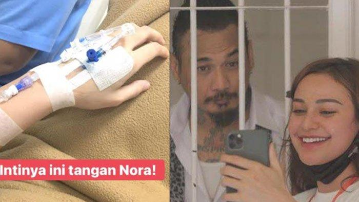 Sepekan Usai Jerinx Divonis Hakim, Nora Alexandra Unggah Foto Tangan Diinfus, Apa yang Terjadi?