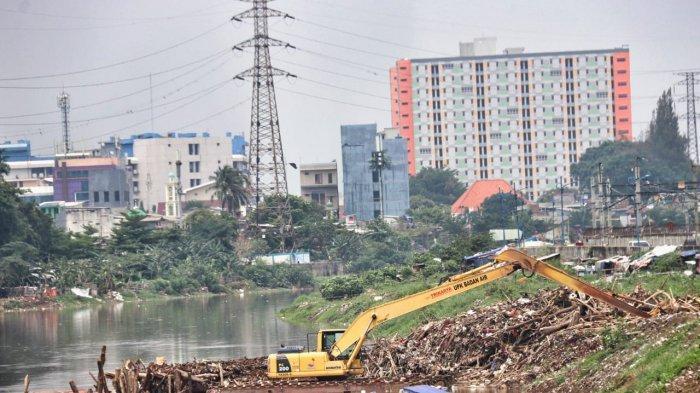 Normalisasi sungai di Jakarta