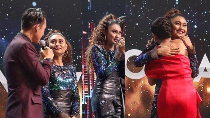 Novia harus pulang karena tereliminasi dari babak delapan besar Idonesian Idol.