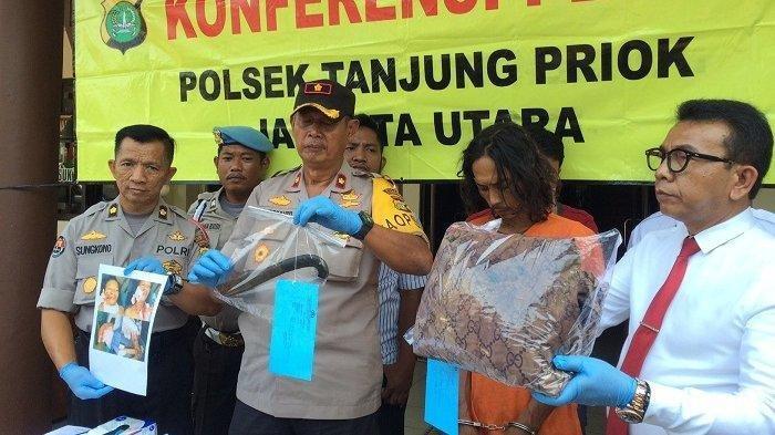 Seorang Suami di Jakarta Utara Gorok Leher Istrinya Karena Menolak Berhubungan Badan