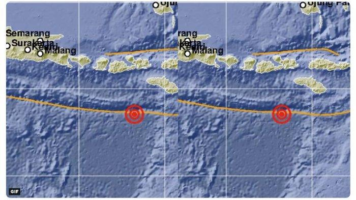 Gempa Hari Ini - BMKG Catat Sudah 3 Kali Gempa Melanda Wilayah Indonesia, Dini Hari Hingga Siang Ini