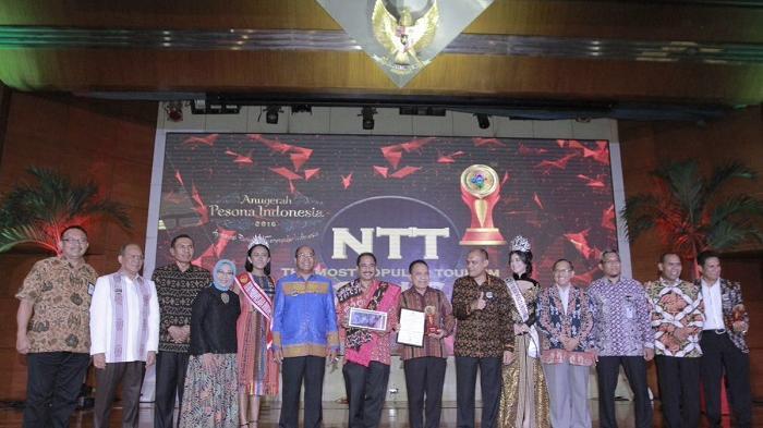 NTT Juara Umum Anugerah Pesona Indonesia 2016