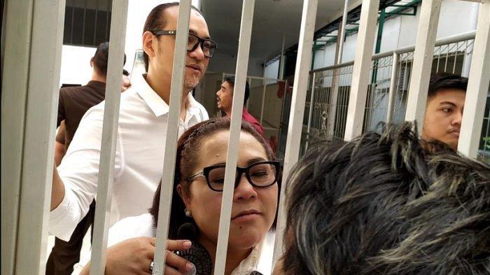 Nunung berkesempatan menemui buah hati dan kerabatnya, jelang menjalani sidang lanjutan di Pengadilan Negeri Jakarta Selatan, Rabu (9/10/2019).