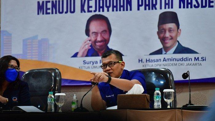 Gelar Dialog Internal, Ketua DPD NasDem Jakarta Timur Serukan Kawal Pemulihan Ekonomi Nasional
