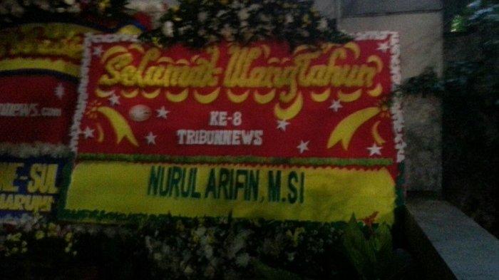 Nurul Arifin Ucapkan Selamat HUT ke-8 Tribunnews.com