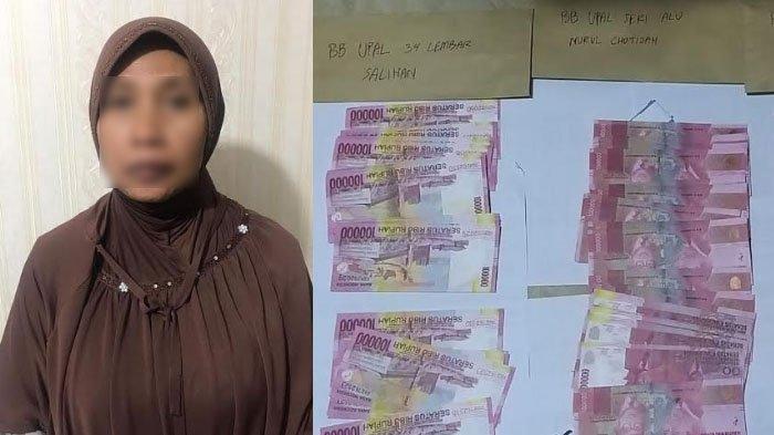 Wanita Asal Malang Beli Emas 5 Gram Pakai Uang Palsu di Pamekasan
